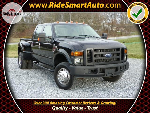 2008 Ford F-350 SD XLT Crew Cab Short Bed DRW 4WD Diesel
