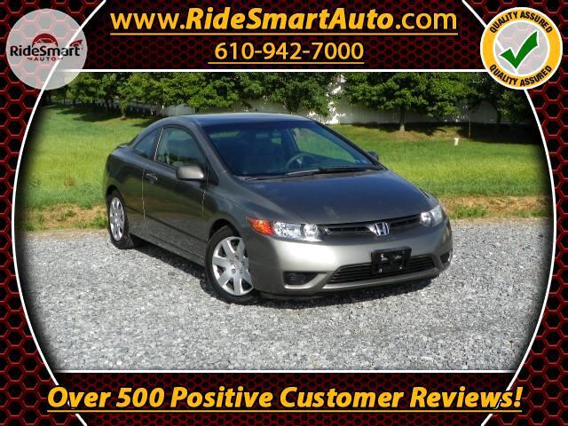 2006 Honda Civic LX Coupe 5-Speed MT