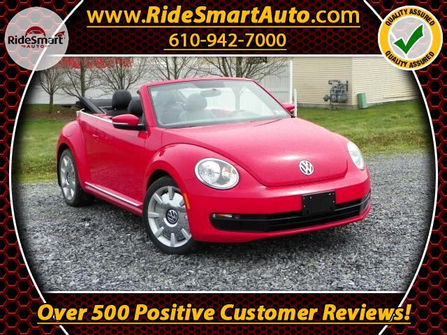 2013 Volkswagen Beetle 2.5L Convertible with Technology/Navigation