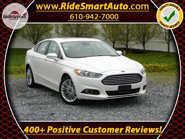 2014 Ford Fusion SE Navigation Leather Sunroof
