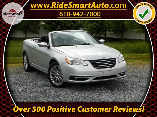2012 Chrysler 200 Limited Convertible-Retractable Hardtop-Navigation