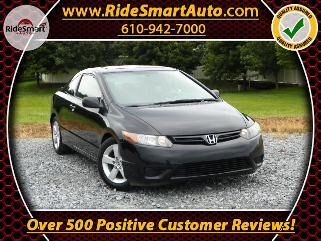 2008 Honda Civic EX Coupe Automatic Trans & Sunroof