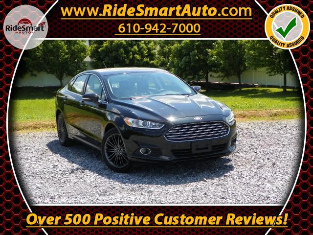 2014 Ford Fusion SE Leather-Sunroof-Navigation