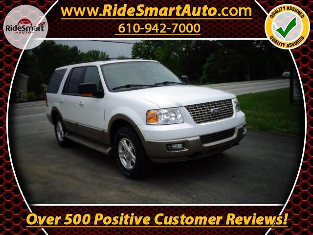 2004 Ford Expedition Eddie Bauer 5.4L 4 Wheel Drive- Leather-Sunroof