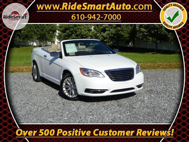 2014 Chrysler 200 Limited Convertible-Retractable Hardtop-Navigation