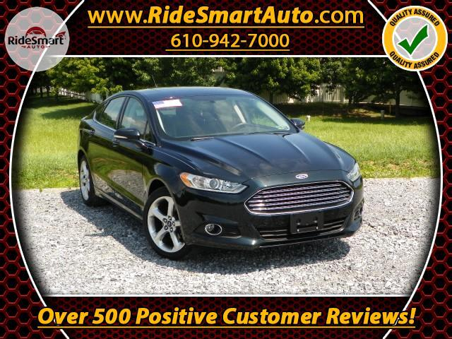 2014 Ford Fusion SE-Sunroof-Microsoft My Sinc- Bluetooth-Back up Ca