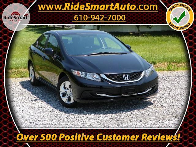 2013 Honda Civic LX Sedan Auto Trans-Low Miles