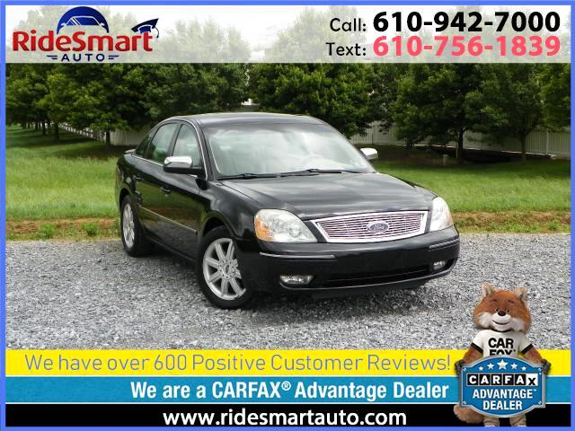 2005 Ford Five Hundred Limited All Wheel Drive Leather Sunroof