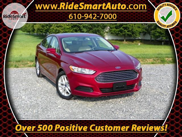 2014 Ford Fusion SE-Sunroof-Microsoft MySync-Bluetooth-Back up Came