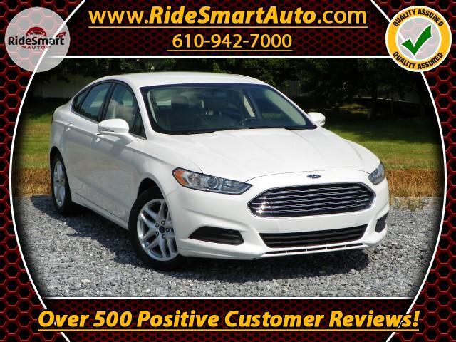 2015 Ford Fusion SE Pearl White