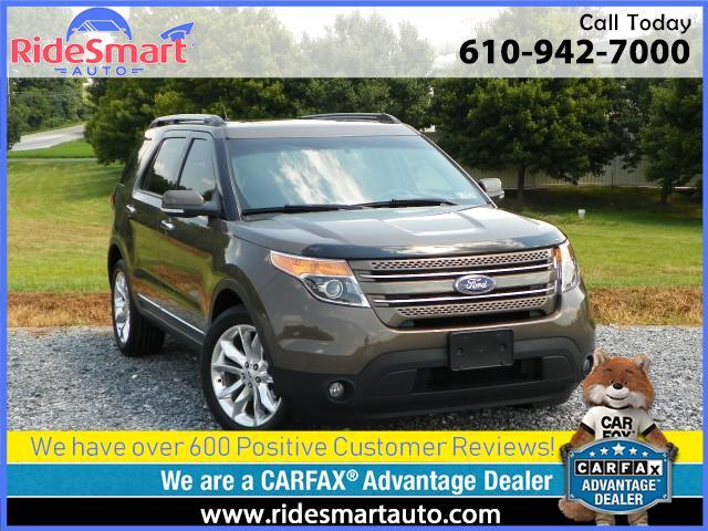 2015 Ford Explorer Limited 4WD-Nav-Leather-Sunroof-3rd Row Seat