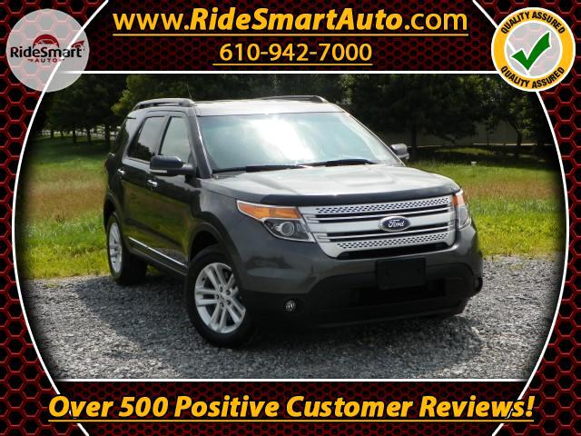 2015 Ford Explorer XLT 4WD-NAV-Bluetooth-Leather-3rd Row Seat