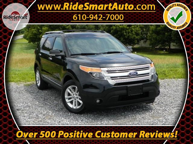 2014 Ford Explorer XLT 4WD-Nav-Bluetooth-Sunroof-Leather-Heated Seats