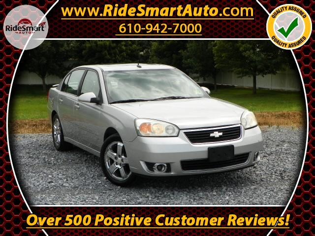 2007 Chevrolet Malibu LTZ- Leather-Sunroof-Chrome Rims