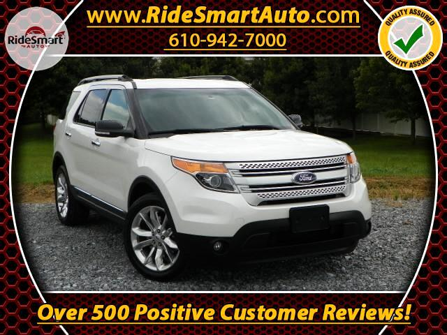 2014 Ford Explorer XLT 4WD-Nav-Leather-Sunroof-3rd Row Seat-Tow Pkg.
