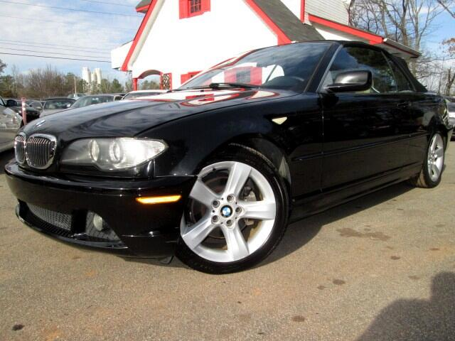 2006 BMW 3-Series 325Ci convertible