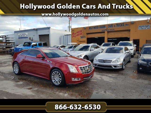 2012 Cadillac CTS Performance Coupe w/ Navigation