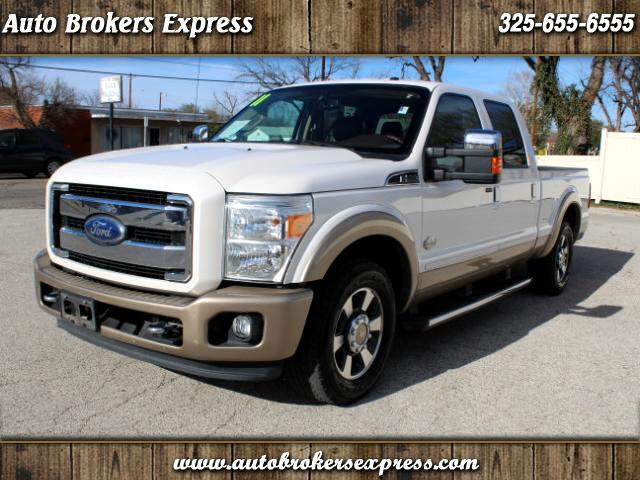 2011 Ford F-250 SD King Ranch Crew Cab Long Bed 2WD