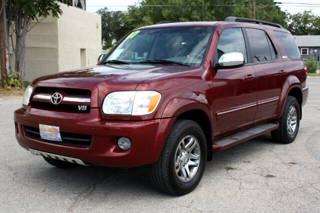 2007 toyota sequoia 4 dr limited v8 used cars in san angelo tx 76901. Black Bedroom Furniture Sets. Home Design Ideas