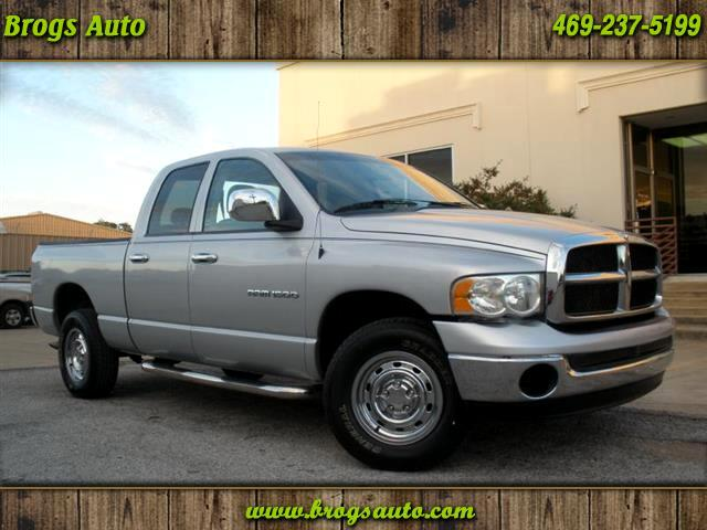 used 2005 dodge ram 1500 for sale in dallas tx 75229 brogs auto. Black Bedroom Furniture Sets. Home Design Ideas