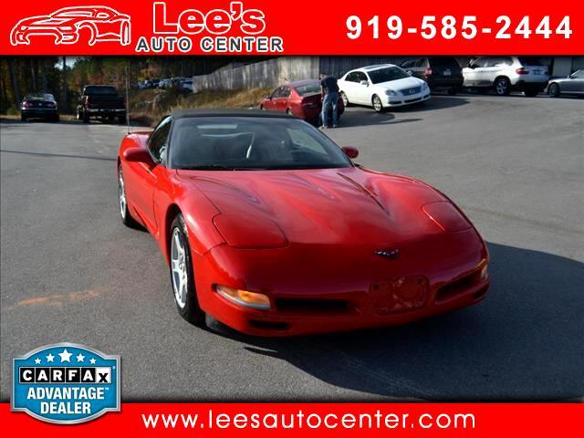 1998 Chevrolet Corvette Convertible