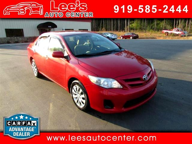 2012 Toyota Corolla CARFAX 1 OWNER
