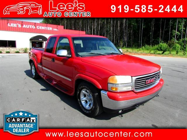 1999 GMC Sierra 1500 SL Ext. Cab Long Bed 2WD