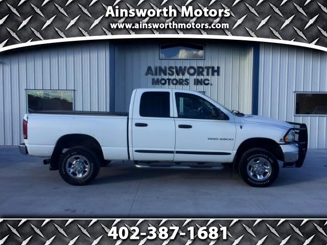 2003 Dodge Ram 2500 SLT Quad Cab Short Bed 4WD