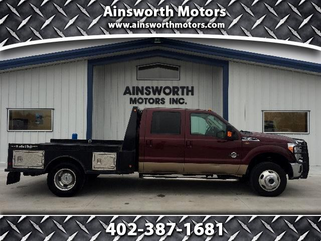 2011 Ford F-350 SD Lariat Crew Cab Long Bed 4WD DRW