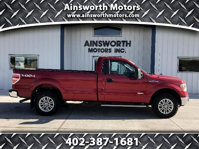 "2012 Ford F-150 4WD SuperCab 163"" XLT"