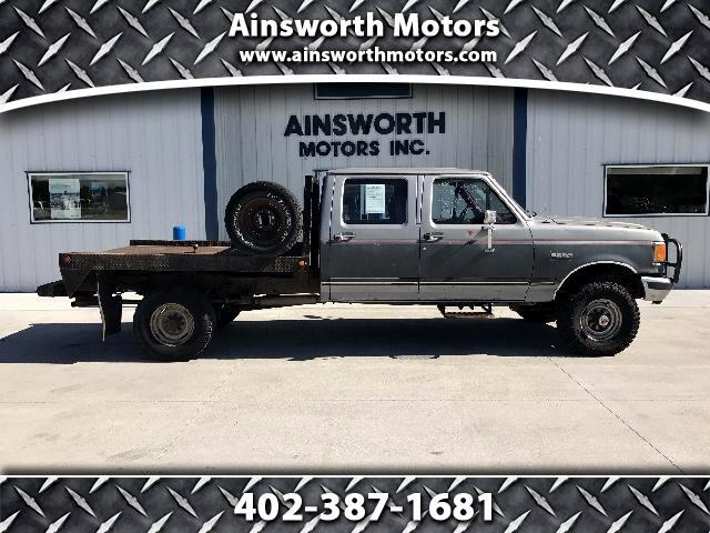 1989 Ford F-350 Crew Cab 4WD