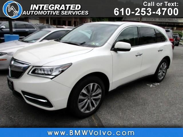 2015 Acura MDX 3.5L Technology Package SH-AWD