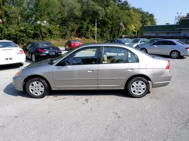 2003 Honda Civic 4dr Sdn LX Auto