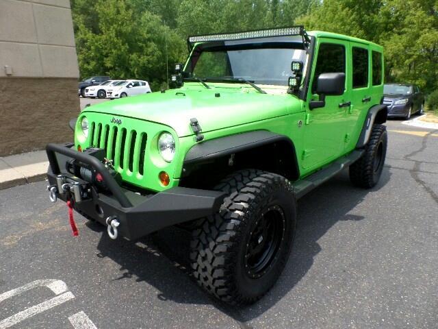 2012 Jeep Wrangler CUSTOM UNLIMITED
