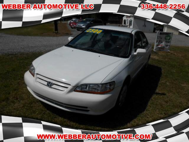 2001 honda accord near winston salem nc 27107 for 2. Black Bedroom Furniture Sets. Home Design Ideas