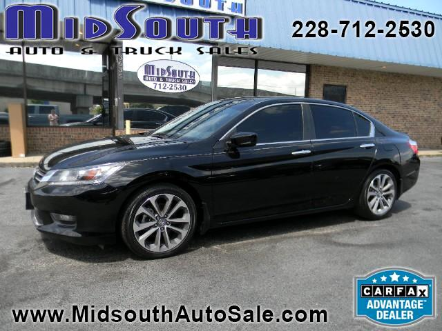2015 Honda Accord Sport Sedan 6-Spd MT