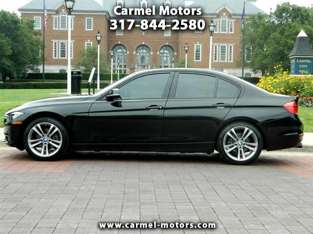 2012 BMW 3-Series 328i Black w/Red trim