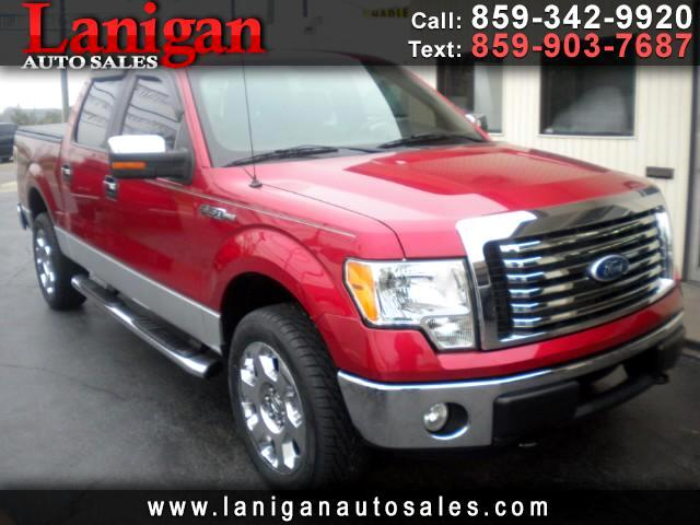 2010 Ford F-150 XLT 4WD SuperCrew 6.5' Box