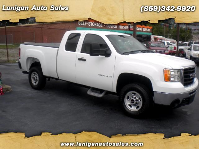 2010 GMC Sierra 2500HD Work Truck Ext. Cab 2WD