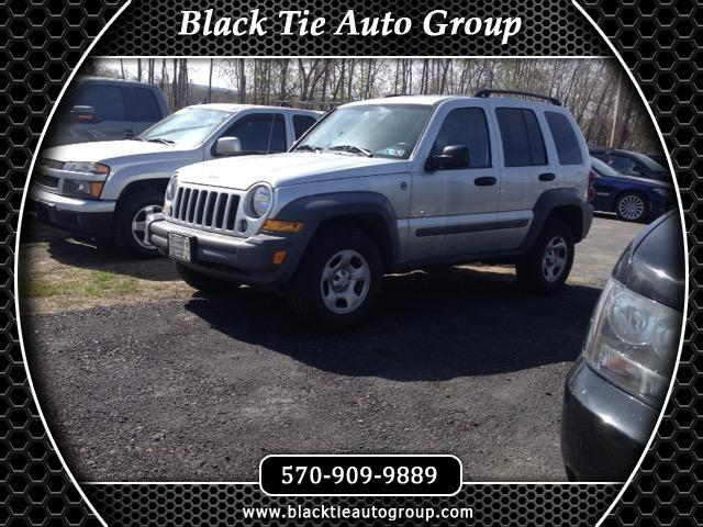 used 2005 jeep liberty for sale in scranton pa 18504 black tie auto group. Black Bedroom Furniture Sets. Home Design Ideas