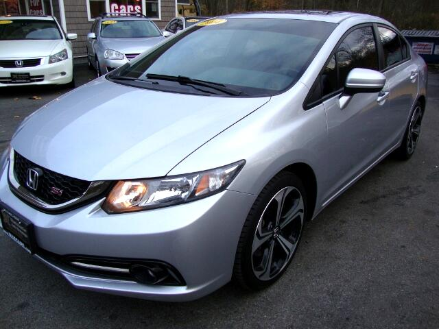2014 Honda Civic Si Sedan 6-Speed MT