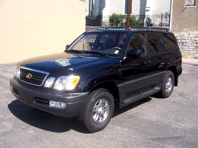 2002 Lexus LX 470 Sport Utility