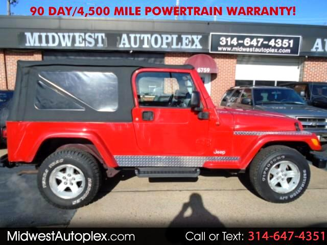2004 Jeep Wrangler 2dr Unlimited LWB