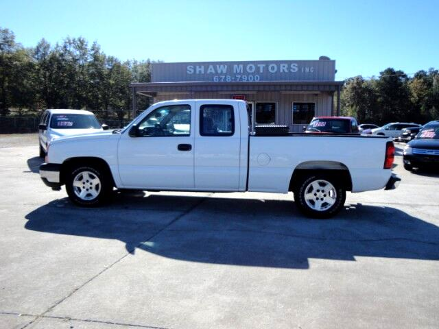 2006 Chevrolet Silverado 1500 Work Truck Ext. Cab Long Bed 2WD