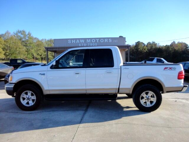 "2002 Ford F-150 4WD SuperCrew 150"" Lariat"