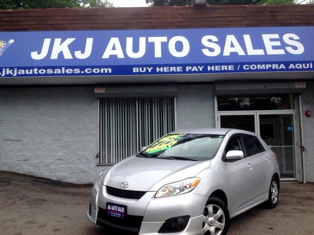 used 2010 toyota matrix for sale in paterson nj 07514 jkj auto sales. Black Bedroom Furniture Sets. Home Design Ideas