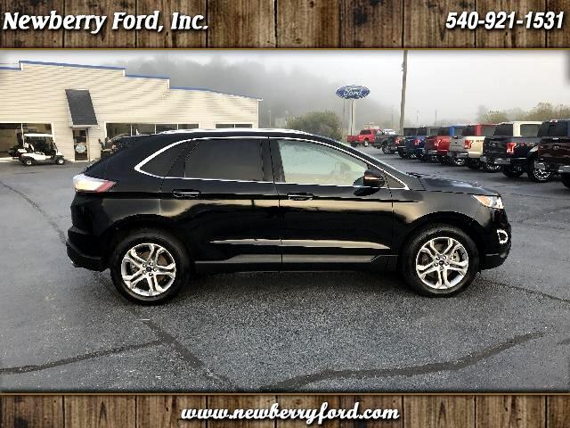 2016 Ford Edge Trim Titanium Drive All-Wheel ... & Newberry Ford Inc. Pearisburg narrows ric VA | New u0026 Used Cars ... markmcfarlin.com