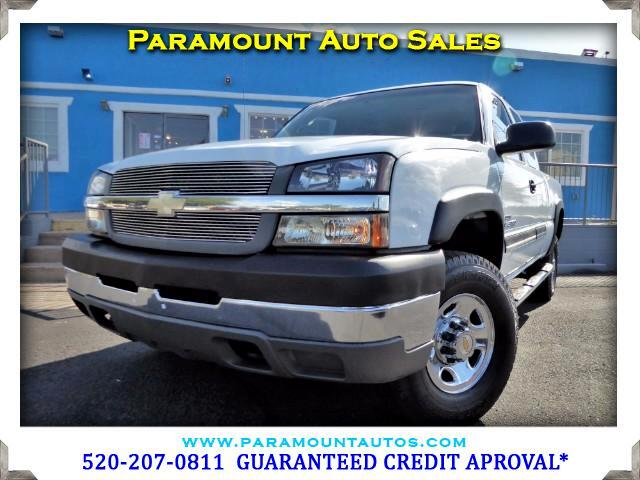 2004 Chevrolet Silverado 2500HD Work Truck Ext. Cab Short Bed 4WD