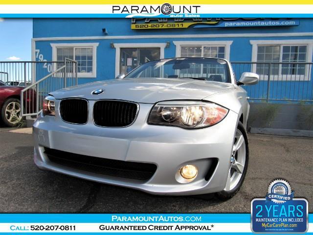 2012 BMW 1-Series 128i Convertible