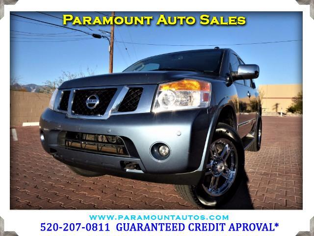 2010 Nissan Armada ABSOLUTELY GORGEOUS NISSAN ARMADA PLATINUM 4X4 THIS THING IS ABSOLUTELY LOADED
